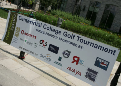 Centennial College Golf Tournament