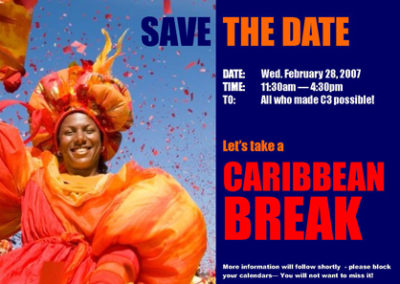 M3 Project Team – Caribbean Break Event