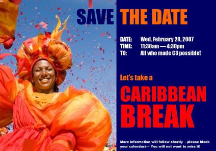 M3 Project Team – Caribbean Break Event