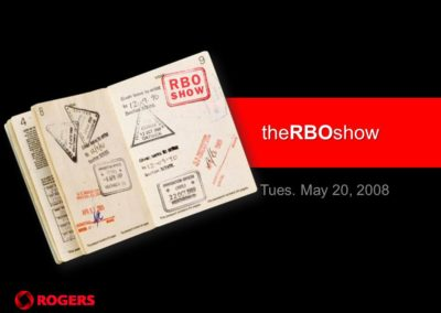The RBO Show – 8 cities