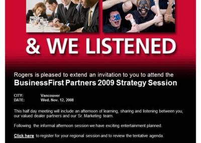 Rogers Business First Program – 2 cities