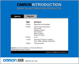 Omron West Road Show – 5 cities